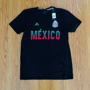 ⚽️ ADIDAS MEXICO Soccer Women's MEDIUM TEE NWT ⚽️